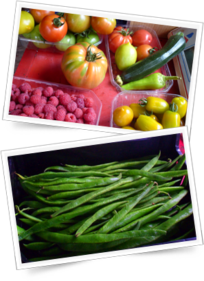 Direct Farm Produce near Birmingham - fruit and vegetables
